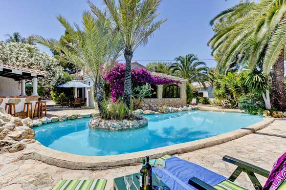 Moraira holiday rentals