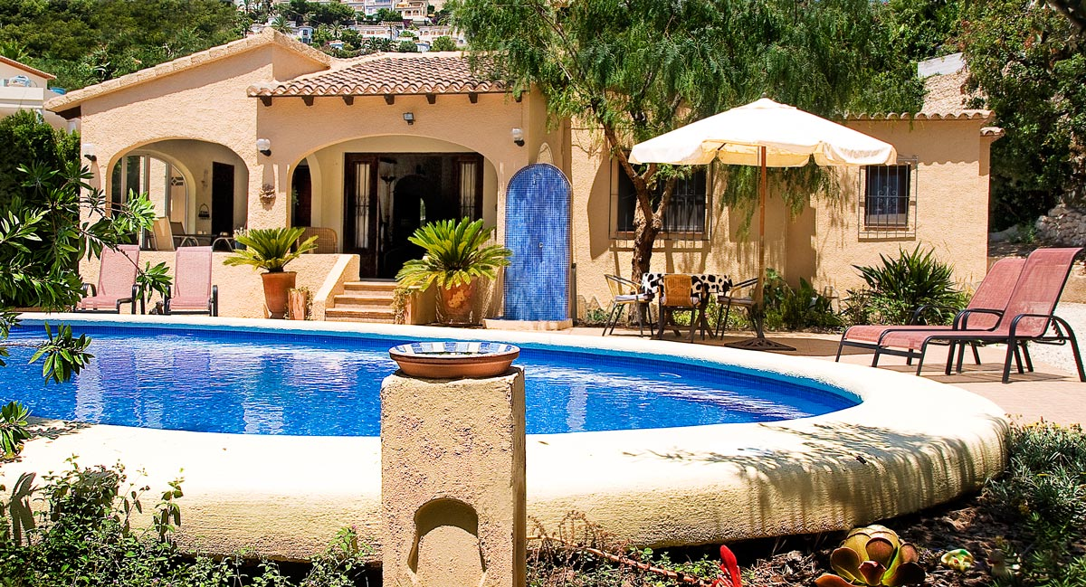 Self catering Villa holidays on the Costa Blanca